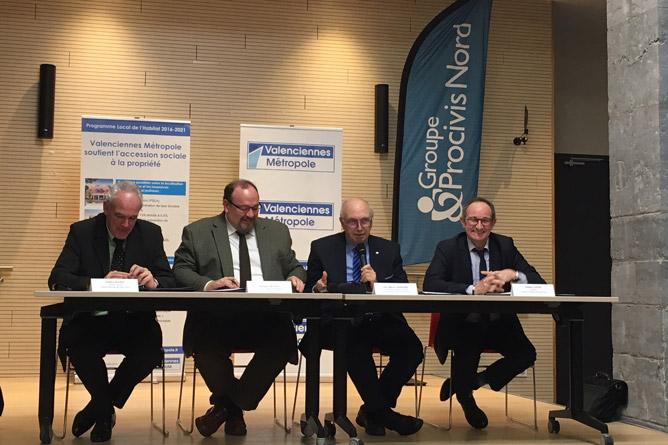 Signature de conventions en faveur de l'accession sociale à la propriété