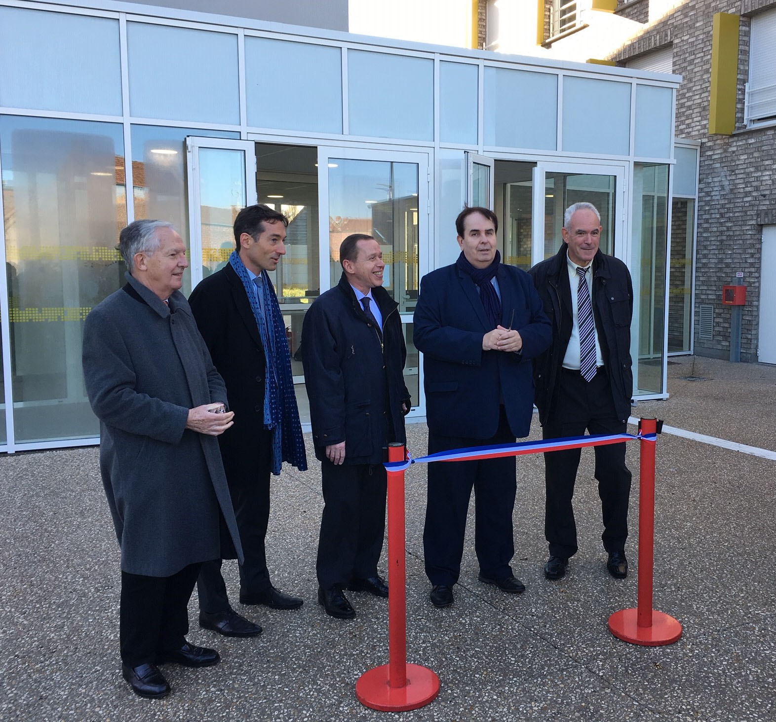 Inauguration Douai Tisserin Habitat